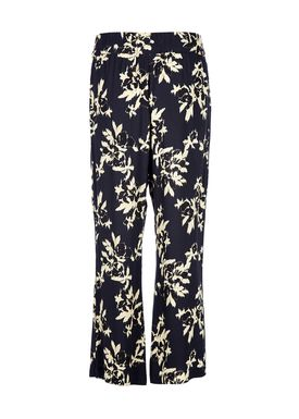 Ganni - Bukser - St. Pierre Crepe Pants - Total Eclipse
