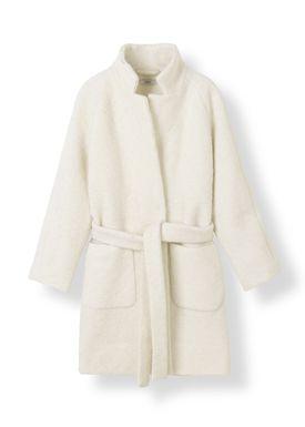 Ganni - Jacket - Fenn Coat - Egret