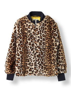 Ganni - Jakke - Ferris Faux Fur - Leopard