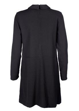 Ganni - Kjole - Clark Classic Dress - Black