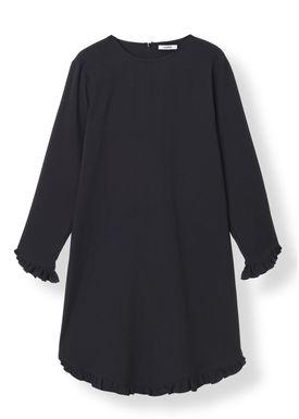 Ganni - Kjole - Clark Mini Dress - Black