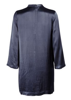 Ganni - Kjole - Donnelly Dress - Mørk Navy
