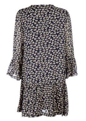 Ganni - Kjole - Newmann Dress - Total Eclipse