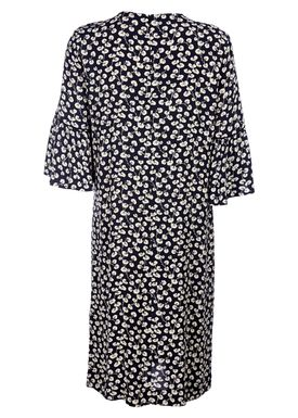 Ganni - Kjole - Roseberg Dress - Total Eclipse