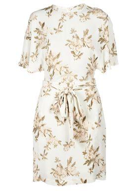 Ganni - Dress - St. Pierre Crepe Dress - Vanilla Ice