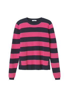 Ganni - Strik - Poppy Knit - Total Eclipse