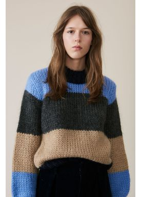 Ganni - Stickat - The Julliard Mohair AW18 - Block Colour