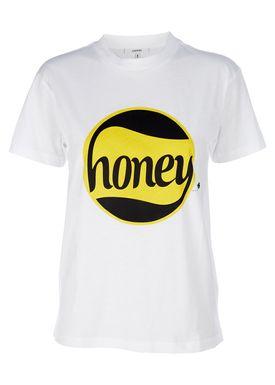Ganni - T-shirt - Harway AW18 - White Honey