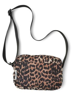 Ganni - Taske - Fairmont Leopard Bag - Leopard