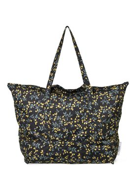 Ganni - Taske - Fairmont Shopper - Black/Yellow Print