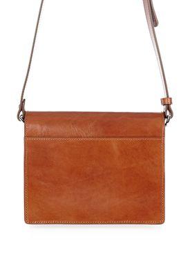 Ganni - Taske - Gallery Bag - Potting Soil (Cognac)