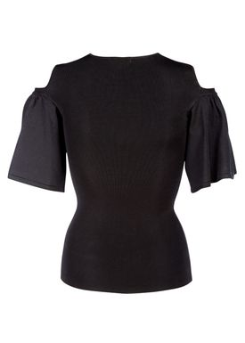 Ganni - Top - Evangel - Black