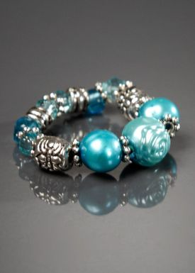 Gecko accessories - Ring - Perle - Turquoise