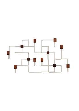 Gejst - Knager - Underground Coat Rack - Hvid