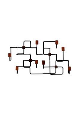 Gejst - Knager - Underground Coat Rack - Sort