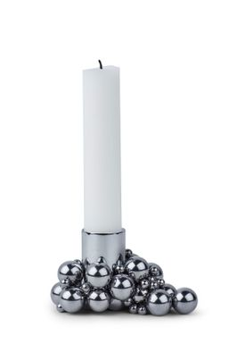 Gejst - Candle Holder - Mole - Chrome 1