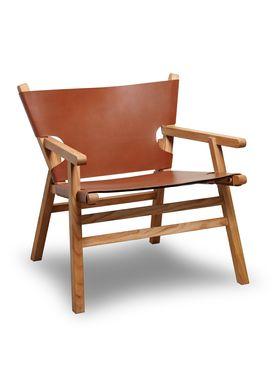 Gejst - Stol - Lean On Me - Eg/Cognac