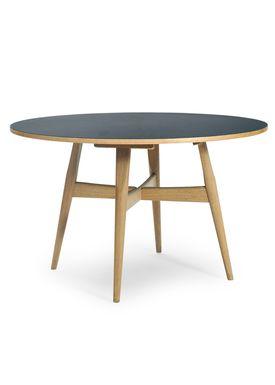 Getama - Table - GE526 / U-table / Dining Table by Hans J. Wegner - Laminate/linoleum top / Base in oak