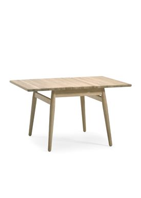 Getama - Table - ND 55 Sofabord - Ubehandlet Eg M/Klap