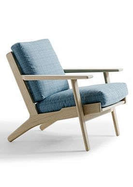 Getama - Fåtölj - GE290 / Chair with low back / by Hans J. Wegner - Oak