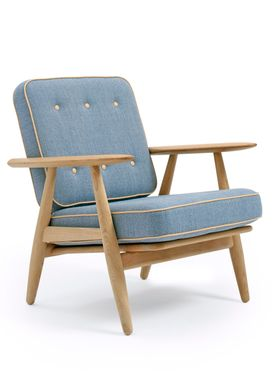 Getama - Fåtölj - GE240 / The Cigar Chair / by Hans J. Wegner - Oak