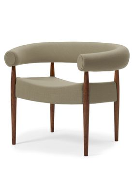 Getama - Fåtölj - Ring Chair / by Nanna og Jørgen Ditzel - Walnut