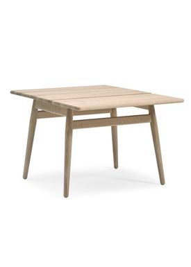 Getama - Salongbord - ND55 / Folding table / by Nana Ditzel and Jørgen Ditzel - Oak with Flap / Untreated