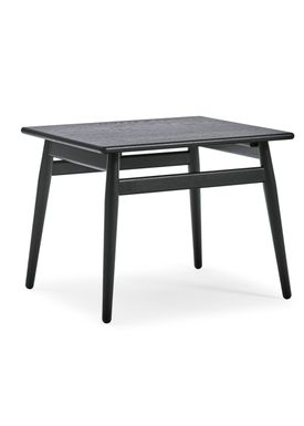 Getama - Salongbord - ND55 / Folding table / by Nana Ditzel and Jørgen Ditzel - Oak without Flap / Black Stained