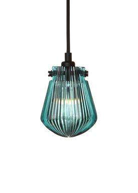 Tom Dixon - Lampe - Glass Bead Pendant - Blå Glas