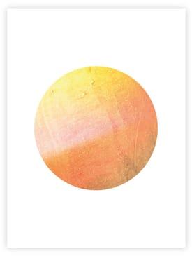 - Poster - Glimpse - Orange