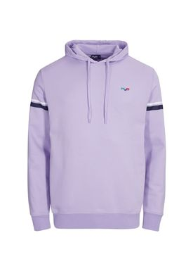 H2O - Sweatshirt - Maine Sweat Hoodie - Lavender/White/Navy