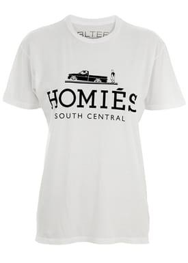 Brian Lichtenberg - T-shirt - Homiés T-shirt - Hvid
