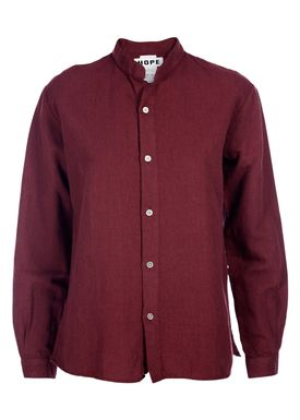 HOPE - Blouse - Daze Shirt - Wine