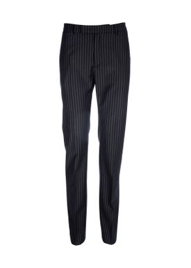 HOPE - Bukser - Office Trouser - Dark Grey Stripe
