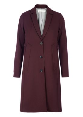 HOPE - Frakke - Manner Coat - Vinrød