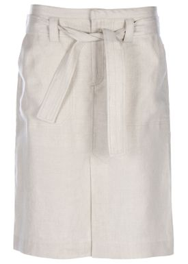 HOPE - Skirt - Krissy Linen Skirt - Nature