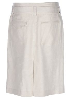 HOPE - Nederdel - Krissy Linen Skirt - Nature