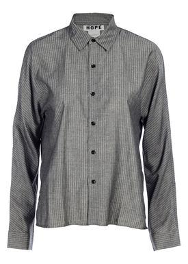 HOPE - Skjorte - Wad Shirt - Grey Stripe
