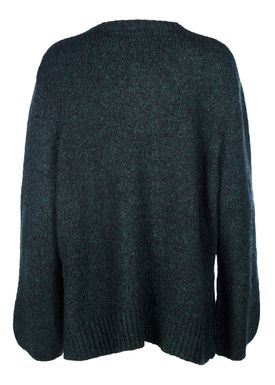 HOPE - Strik - Ash Sweater - Green Melange