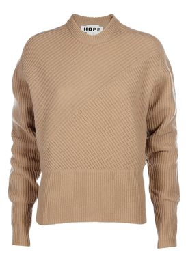 HOPE - Strik - Lynx Sweater - Beige