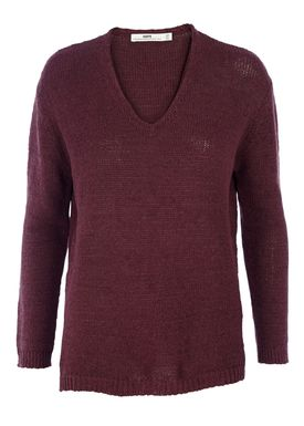 HOPE - Strik - Marly Sweater - Vinrød