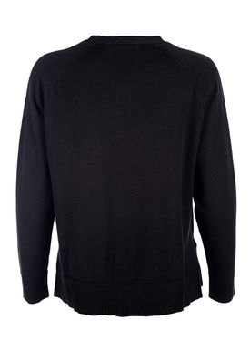 HOPE - Sweater - Liv Cotton Sweater - Black