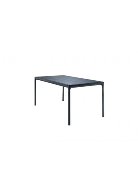 HOUE - Bord - FOUR Table Bamboo Top  - Black/Bamboo 90x210