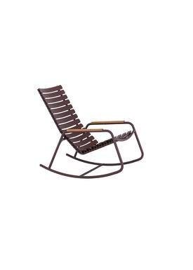 HOUE - Gyngestol - CLIPS Rocking Chair Bamboo Armrest - Plum/Plum