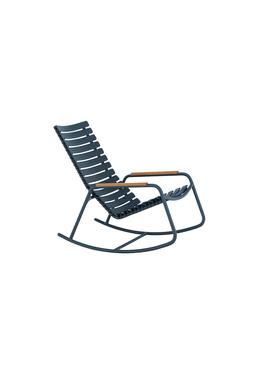 HOUE - Gyngestol - CLIPS Rocking Chair Bamboo Armrest - Midnightblue/Midnightblue