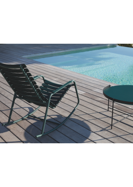 HOUE - Gyngestol - CLIPS Rocking Chair Bamboo Armrest - Paprika/Paprika