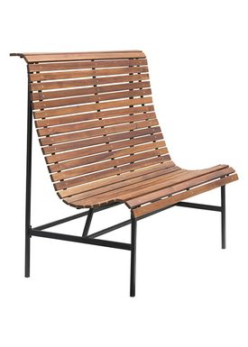 House doctor - Bänk - Train Bench - Brown