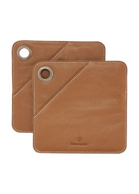 House Doctor - Potholder - Square Grydelapper - Cognac