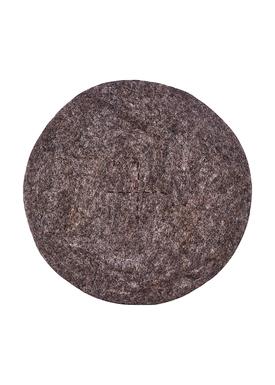 House Doctor - Hynde - Felt Round - Dark Grey Melange