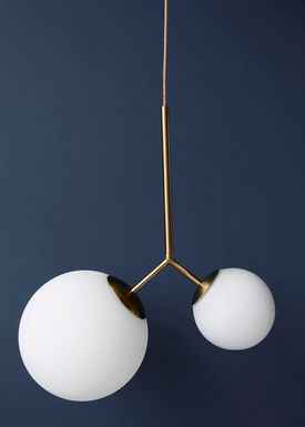 House doctor - Lampe - Twice Lamp - Hvid